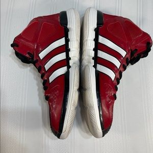 Adidas men's basketball red high top size 6 1/2